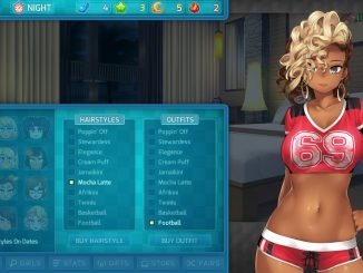 HuniePop 2: Double Date – Outfit and Location Cheat Sheet 1 - steamlists.com