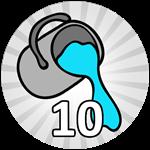 Roblox Bubble Gum Simulator - Badge 10 Tile Painter Wins