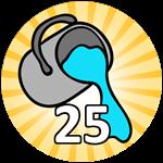 Roblox Bubble Gum Simulator - Badge 25 Tile Painter Wins
