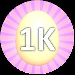 Roblox Bubble Gum Simulator - Badge Hatch 1,000 Eggs
