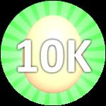 Roblox Bubble Gum Simulator - Badge Hatch 10,000 Eggs