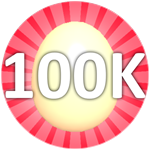 Roblox Bubble Gum Simulator - Badge Hatch 100,000 Eggs