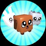 Roblox Bubble Gum Simulator - Badge Pet Collector