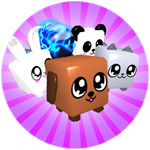 Roblox Bubble Gum Simulator - Badge Pet Hoarder
