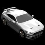 Roblox Car Tycoon - Badge Mustang