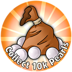 Roblox Crown Academy - Badge A Bag O' Pearls!