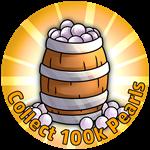 Roblox Crown Academy - Badge A Barrel O' Pearls!