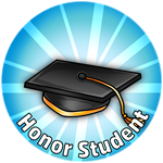 Roblox Crown Academy - Badge Gifted Pupil