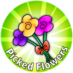 Roblox Crown Academy - Badge Picked Flowers