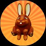 Roblox Egg Simulator - Badge Chocolate Bunny Egg