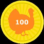 Roblox Egg Simulator - Badge Collected 100 Turkey