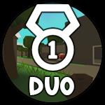 Roblox Island Royale - Badge Duo Victory!