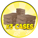 Roblox Murder Blox - Shop Item 3X Cases