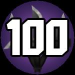 Roblox Murder Mystery 2 - Badge Level 100