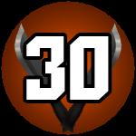 Roblox Murder Mystery 2 - Badge Level 30