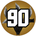 Roblox Murder Mystery 2 - Badge Level 90