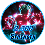 Roblox Muscle Legends - Badge 2,500 Strength
