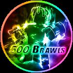 Roblox Muscle Legends - Badge 500 Brawl Wins