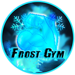Roblox Muscle Legends - Badge Frost Gym