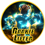 Roblox Muscle Legends - Badge Rookie Lifter