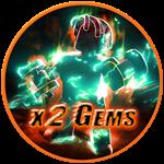 Roblox Muscle Legends - Shop Item x2 Gems