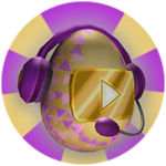 Roblox Robloxian Highschool - Badge You collected the Video Star Egg!