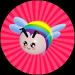 Roblox Save The Bees Simulator - Badge You Saved Rainbow Bee