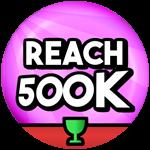 Roblox Sled Simulator - Badge 500K Total Distance