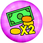 Roblox Sled Simulator - Shop Item 2X Double Money Permanently