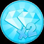 Roblox Tapping Gods - Shop Item 2x Diamonds