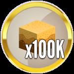 Roblox Treasure Hunt Simulator - Badge 100K Sand Dug