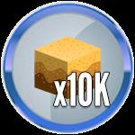 Roblox Treasure Hunt Simulator - Badge 10K Sand Dug