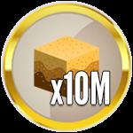 Roblox Treasure Hunt Simulator - Badge 10M Sand Dug