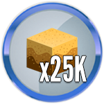 Roblox Treasure Hunt Simulator - Badge 25K Sand Dug