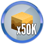 Roblox Treasure Hunt Simulator - Badge 50K Sand Dug
