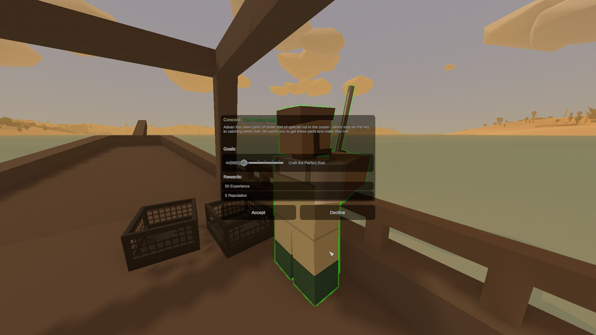 Unturned - Kuwait Major Questlines Guide - Adnan: The Perfect Rod