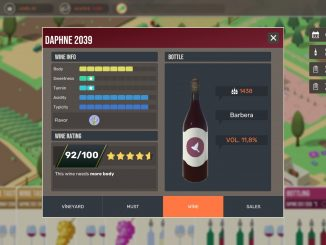 Hundred Days – star components of wine 6 - steamlists.com