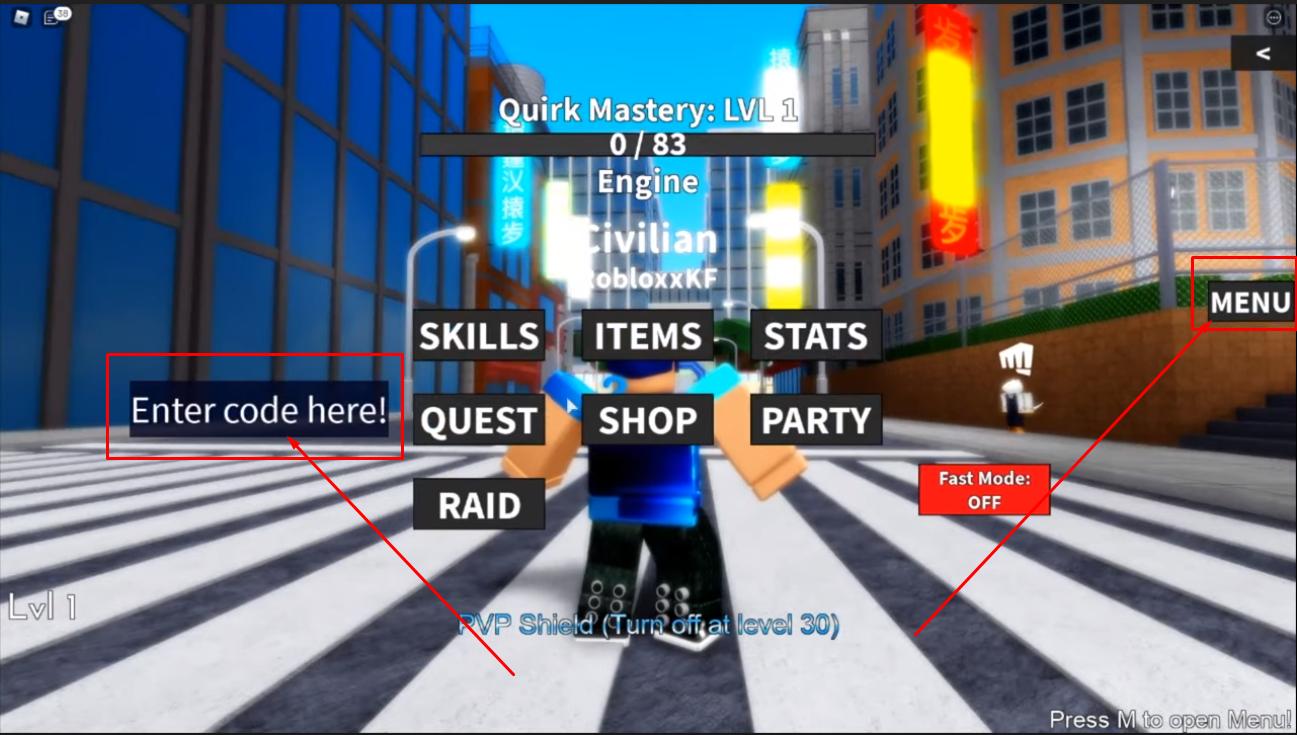 Roblox My Hero Mania Codes