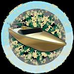 Roblox SharkBite - Badge The Golden Boat