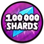 Roblox Anime Run - Badge 100K Shards