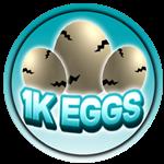 Roblox Apex Simulator - Badge 1K Egg Hatched