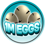 Roblox Apex Simulator - Badge 1M Egg Hatched