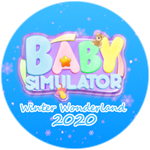 Roblox Baby Simulator - Badge ❄️Winter Wonderland 2020❄️