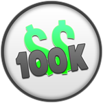 Roblox Bank Tycoon - Badge 100K RICH