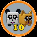 Roblox Battle Gods Simulator - Badge 10th Pet
