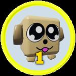 Roblox Battle Gods Simulator - Badge 1st Pet