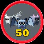Roblox Battle Gods Simulator - Badge 50th Pet