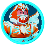 Roblox Battle Gods Simulator - Badge Dark Sun God