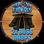 Roblox Blox Fruits - Shop Item 2x Drop Chance