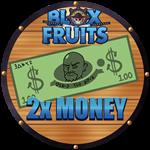 Roblox Blox Fruits - Shop Item 2x Money